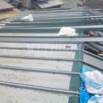 カバー工法 板金屋根 葺き替え工事