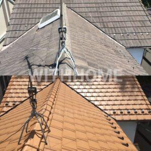 モニエル瓦→三州瓦屋根瓦葺き替え工事 広島の屋根・瓦のお店ウィズホーム