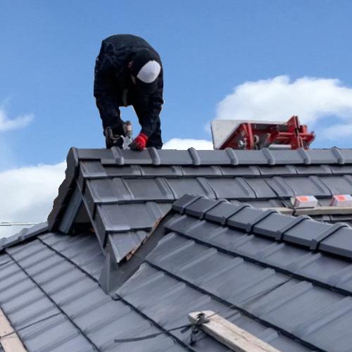 屋根瓦のお店ウィズホーム 施工の流れ