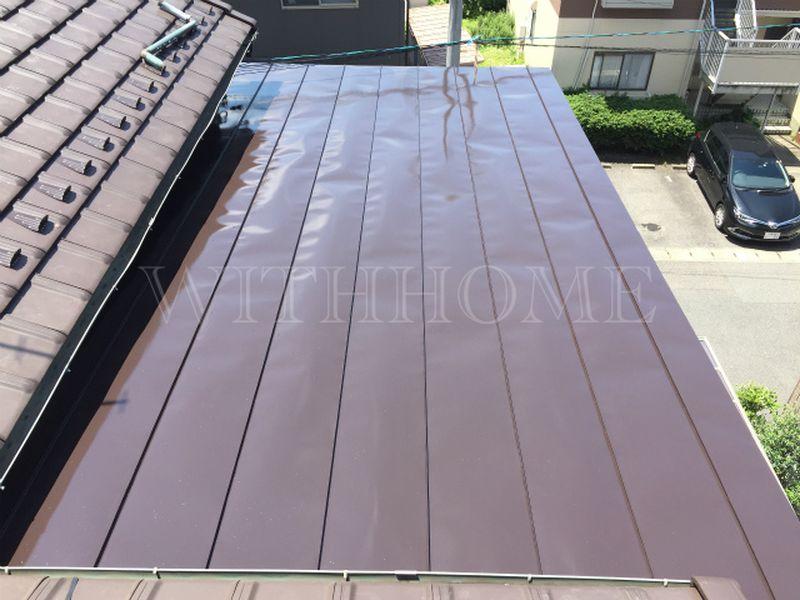 板金塗装 広島の屋根瓦のお店ウィズホーム